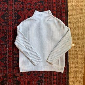 GAP mockneck cotton sweater, M